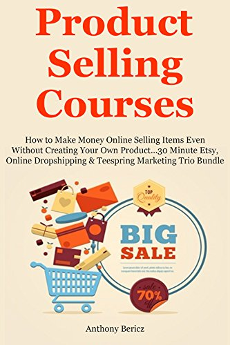 Trio Import (Product Selling Courses: How to Make Money Online Selling Items Even Without Creating Your Own Product…30 Minute Etsy, Online Dropshipping & Teespring Marketing Trio Bundle)