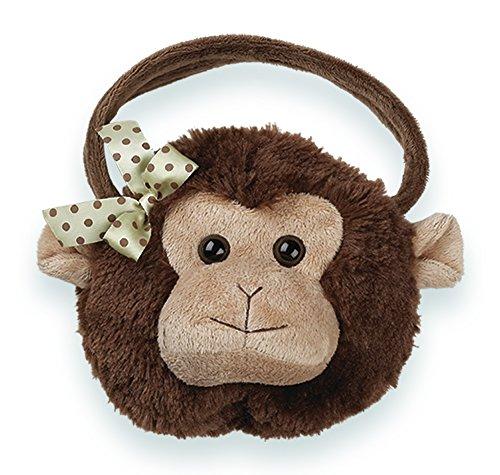 - Bearington Giggles Carrysome, Girls Plush Monkey Stuffed Animal Purse, Handbag 7 inches