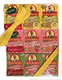 Sun Maid SOUR Raisins Variety Pack - 3 PACKS of 6 Boxes - Sour Lemon, Sour Strawberry and Sour Watermelon - 18 total 1.33oz Boxes