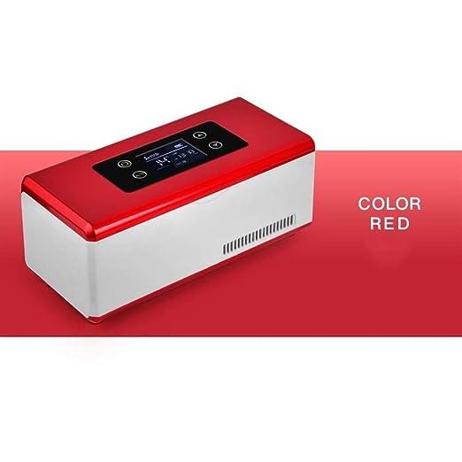 IVNZEI Refrigerador de vehículos Mini refrigeradores de Caja ...