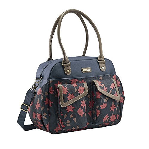 JJ Cole Diaper Bag, Carryall, Navy Floral