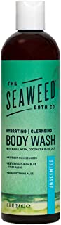 product image for The Seaweed Bath Co. Hydrating Body Wash, Unscented, Nutrient-Rich Bladderwrack Seaweed, Vegan, Paraben Free,12 fl. oz.