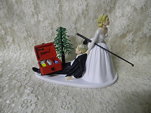 wedding-fishing-cake-topper-custom-blonde-hair-color-on-couple