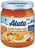 Alete Karotten-Tomaten-Suppe mit Reis und Hühnchen, 6er Pack (6 x 250 g)
