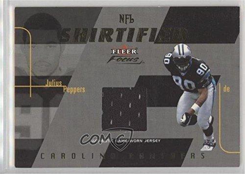 Julius Peppers #/175 (Football Card) 2003 Fleer Focus - NFL Shirtified - Gold 175 Jerseys [Memorabilia] Non-Numbered -