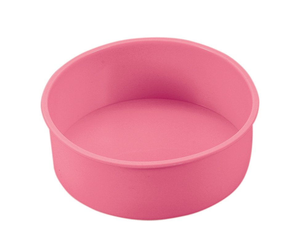 Parukinzoku suite Cross Heart 2 silicone decoration cake baked type 16cm Pink D-1616