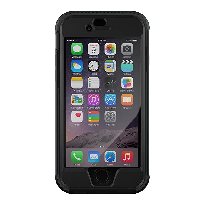 new product bbd85 5855f Tech21 Patriot Rugged Case for iPhone 6 Plus /6S Plus - Black