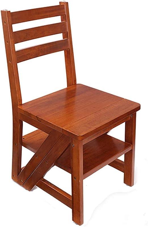 Taburetes escalera Taburete escalonado escaleras plegables para el hogar silla de madera maciza para el hogar escaleras zapatos para cambiar taburetes gabinete interior taburete para escaleras silla p: Amazon.es: Hogar