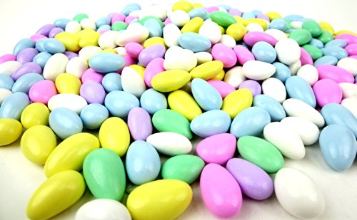 Assorted Almond - Assorted Jordan Almonds, 2 lb Bag