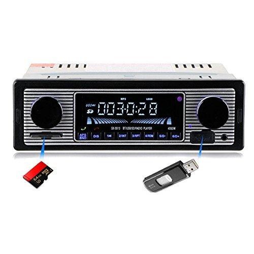 Toogoo Bluetooth Vintage Car Radio MP3 Player Stereo USB AUX Classic Car Stereo Audio by Toogoo (Image #2)