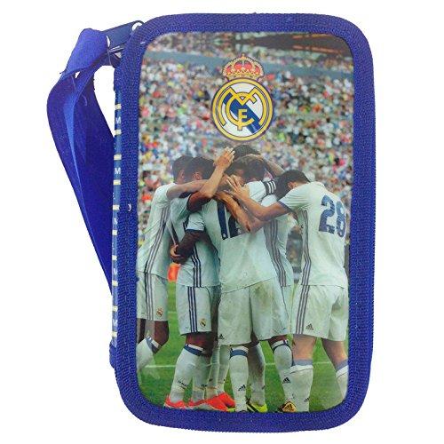 Plumier Real Madrid triple: Amazon.es: Juguetes y juegos