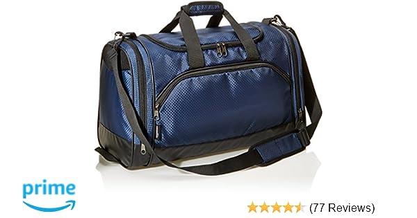 351895e4cb Amazon.com  AmazonBasics Sports Duffel - Medium
