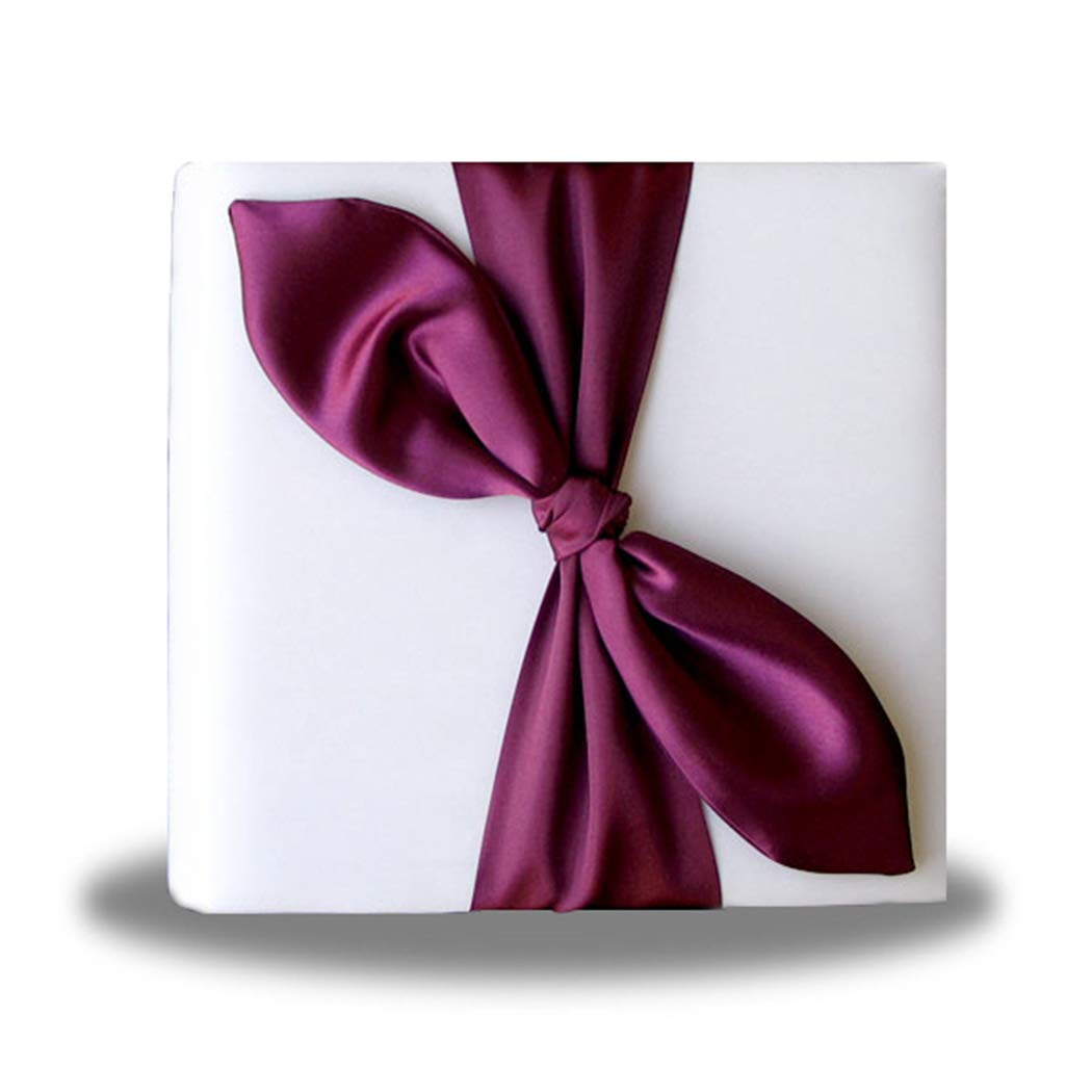 SACASUSA White Satin Bow Photo Album for Wedding, Anniversary, Engagement by SACASUSA (Image #6)