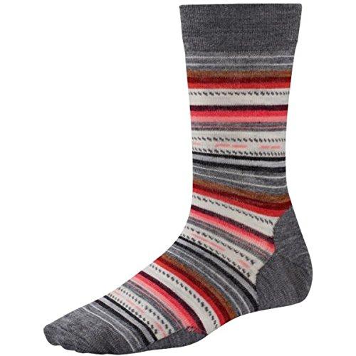 5ecf43abfcc Smartwool Women s Margarita Medium Gray Socks SM (Women s Shoe 4-6.5)Small