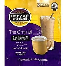 Oregon Chai Tea Latte Concentrate 3/32 Oz. Each by Oregon Chai