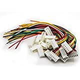 Allytech 10Pcs 5S RC Lipo Battery Balance Extension Charger Plug Cable For RC Helicopter 10 Pack
