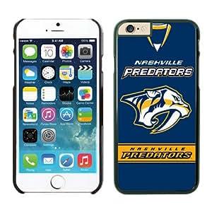 NHL Nashville Predators iPhone 6 Cases 4 Black NHLW12941