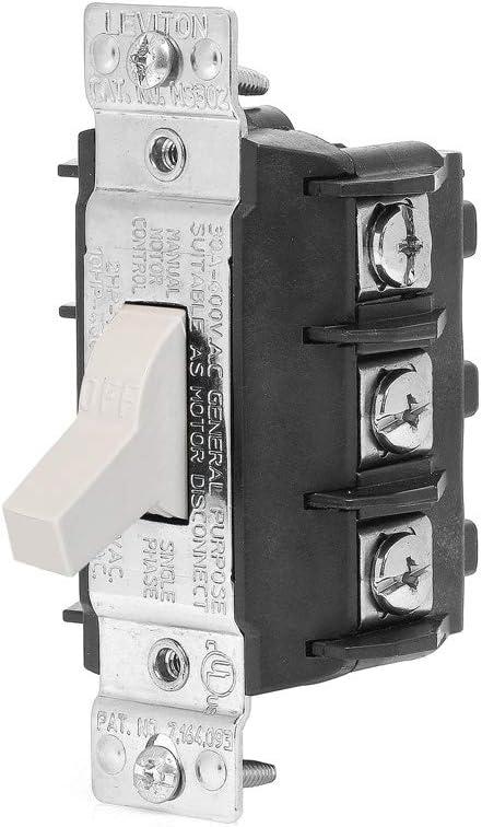 Back & Side Wiring Three Phase AC Manual Motor Controller Three ...