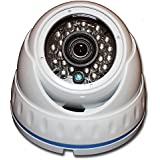 1080P HD-TVI HD-CVI AHD 960H IR WHITE DOME SECURITY SURVEILLANCE CAMERA Weatherproof Infrared