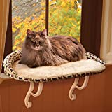 Kitty Sill Deluxe with Bolster Tan 14'' x 24'' x 3'' (2 Pack)