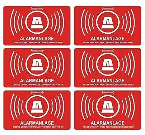 Adhesivos indicadores de alarma, para exteriores (5 x 3cm, 5 unidades) (referencia: 047_5er)