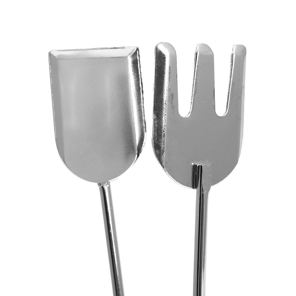 GROOMY Tijeras Forma Fre/ír a la Parrilla Clip de Comida Herramientas para Barbacoa Pinzas Utensilio para cocinar al Aire Libre
