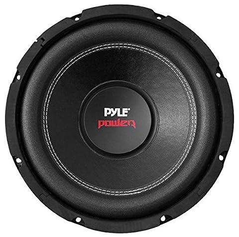 Pyle PLPW10D 10-Inch 1000 Watt Dual 4 Ohm Subwoofer (Car Subwoofers)