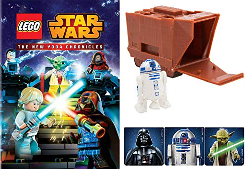 Escape Jedi Temple Starr Wars Lego Animated episodes New Chronicles of Yoda Animated DVD + Mini Droid Figure Pack (Lego Wreck It Ralph)