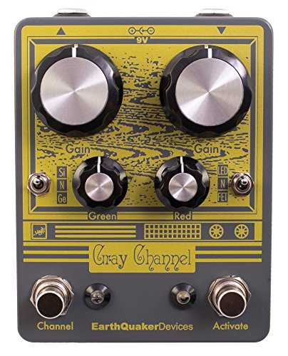Devices Channel (EarthQuaker Devices Gray Channel Overdrive Effects Pedal)