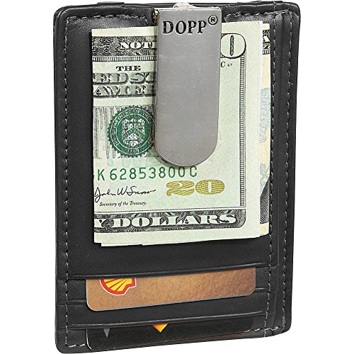 Dopp Men's Regatta Zipper Billfold Wallet, Black, One Size from Dopp