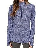 Nike Element Half-Zip Womens Long Sleeve Pullover athletic running shirt