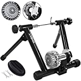 Popsport Fluid Bike Trainer Stand 330LBS Indoor Bicycle Trainer 750W Flowing Resistance Indoor Bike Trainer Exercise Stand for Indoor Riding Training and Exercise (Fluid Bike Trainer Stand)