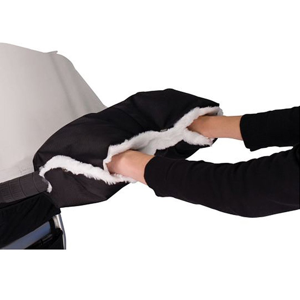 Stroller Warmer Gloves Pushchair Hand Muff Waterproof Pram Accessory Baby Carriage Glove Buggy Clutch Cart Muff Glove xff