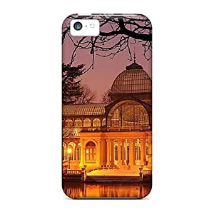 New Iphone 5c Case Cover Casing(old Glass Building)