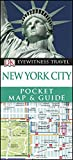 maps new york city - DK Eyewitness Pocket Map and Guide: New York City