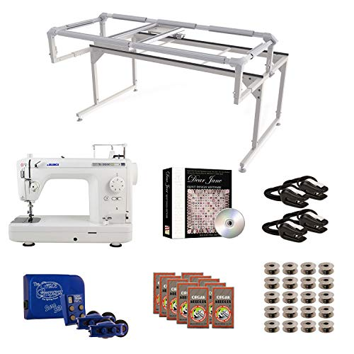 Juki TL2000Qi Grace Q-Zone Hoop Frame with Sure Stitch Machine Quilting Combo 4