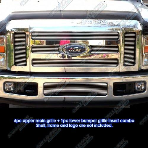 Duty Ford Billet Super F350 - APS Fits 08-10 Ford F-250/F-350/ Super Duty Billet Grille Combo #F67803A
