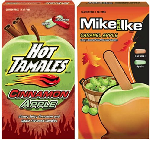 Mike & Ike and Hot Tamale Fall 2 count