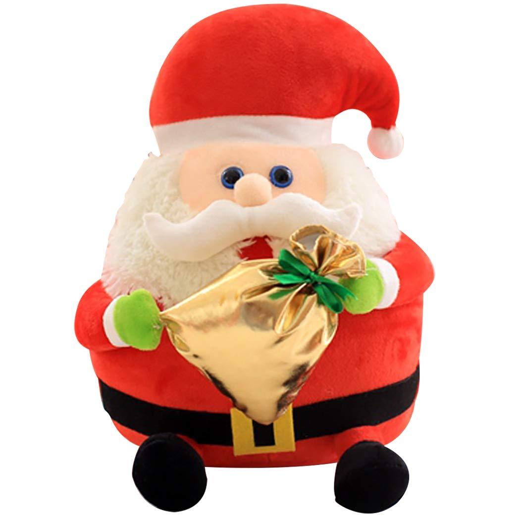 Joyibay Weihnachten Plüschtier Gefüllte Puppe Spielzeug Niedlich ...