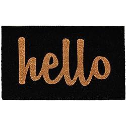 """Calloway Mills Home & More 100231729BNS Hello Doormat, 1'5"""" x 2'5"""""""