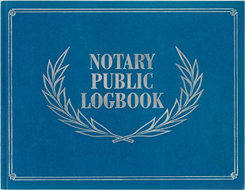 - Notary Public Logbook (Notary Log Book, Notary Journal)