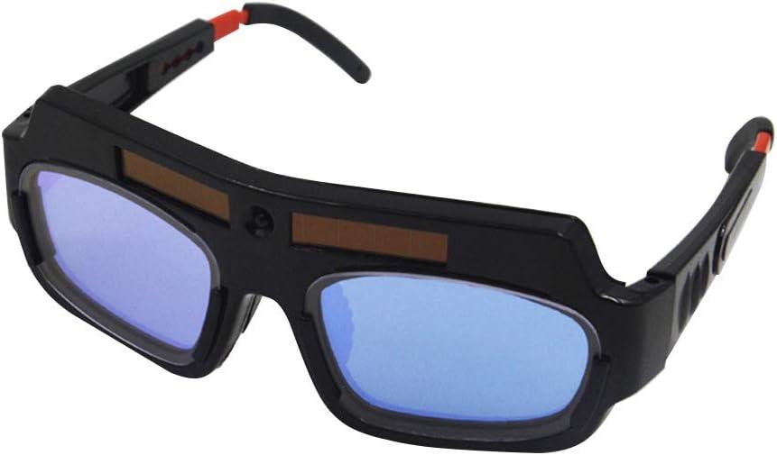 Gafas de soldar eléctricas de luz variable automática gafas de protección ultravioleta y luz fuerte del soldador