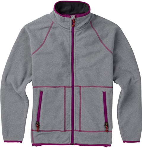 Burton Spark Full-Zip Fleece Girls Sz (Burton Girls Fleece Jacket)