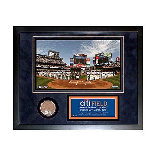 Field Framed Photomint - Steiner Sports MLB New York Mets Citi Field 11 x 14-inch Mini Dirt Collage