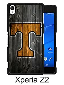 Southeastern Conference SEC Football Tennessee Volunteers 06 Black Sony Xperia Z2 Screen Phone Case Durable and DIY Cover