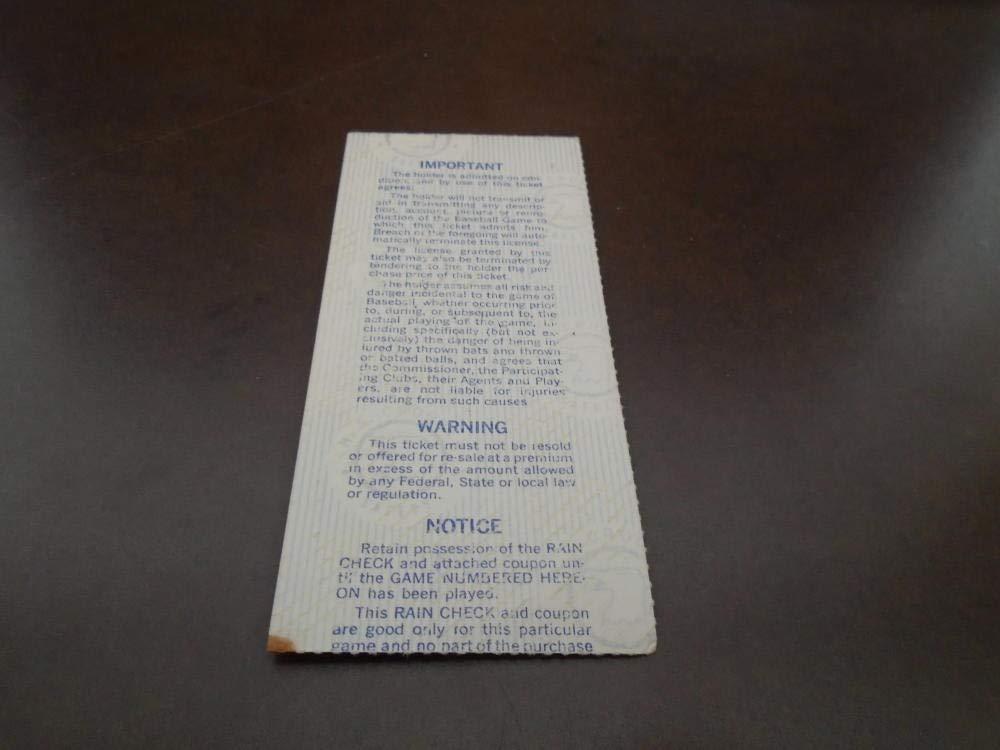 1977 DODGERS WORLD SERIES TICKET STUB GAME 5 VS YANKEES REGGIE JACKSON MUNSON HR