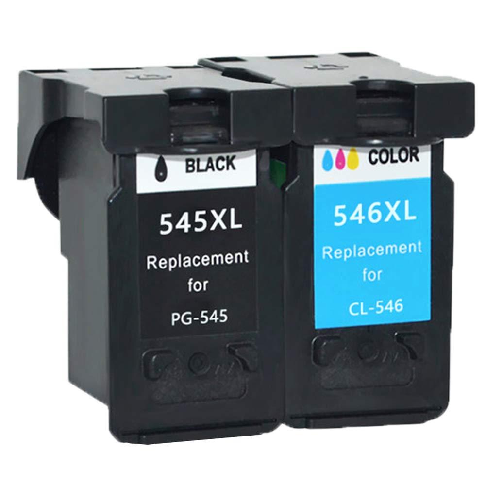 Ouguan - Cartuchos de Tinta para Canon PG-545XL CL-546XL 545 ...