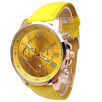 HZBIOK Reloj Mujer Moda Mujer Casual Perla Cadena De Reloj ...