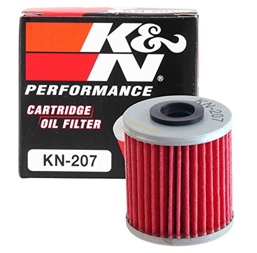 KN-207 K&N Performance Oil Filter; POWERSPORTS CARTRIDGE (Powersports Oil Filters):