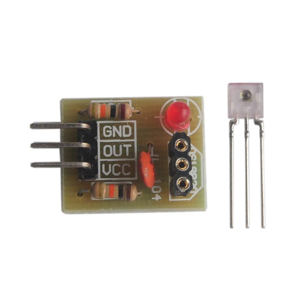 Module de d/étection de capteur de r/écepteur laser 5V tube non modulateur pour Arduino Wishiot paquet de 5